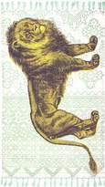 Thomas Paul Lion Cotton Rug