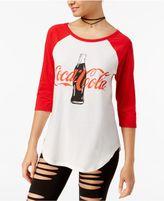 Hybrid Juniors' Coca-Cola Bottle Graphic T-Shirt