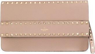 Valentino Rockstud clutch bag