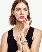 Ann Taylor Trio Stretch Bracelet
