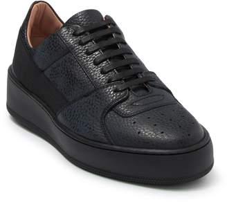 BOSS Annia Low Cut Leather Sneaker