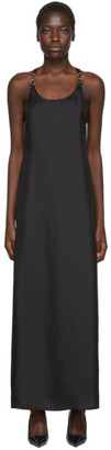 Rudi Gernreich Black Silk Buckle Dress