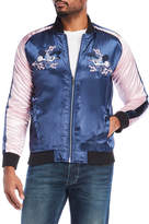Soul Star Embroidered Bomber Jacket