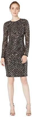 Maggy London Sequin Sheath Dress