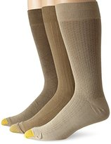 Gold Toe Men's Rayon Fashion 3 Pack Socks