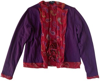 Etro Purple Wool Knitwear for Women