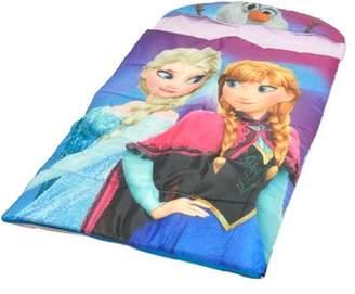Disney Frozen Kids Hooded 54? x 30? Slumber Bag, 1 Each