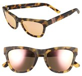 Westward Leaning Women's Olivia Palermo X 'Pioneer' 53Mm Sunglasses - Sand Tortoise Matte/ Rose Gold