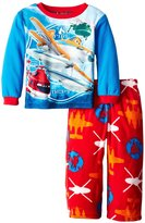 WebUndies.com Disney Pixar Planes Fire & Rescue Fire Dept. Toddler Pajama for Little Boys