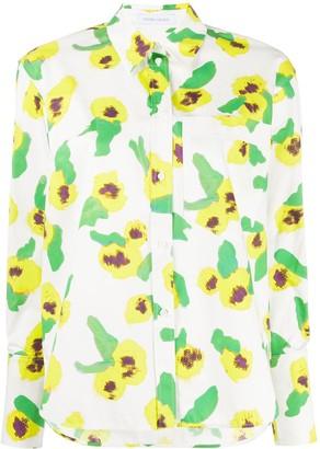 Christian Wijnants Tarrik Yellow Primrose shirt