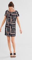 Esprit Flowing geometric print dress