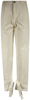 FEDERICA TOSI Fitted Waist Straight Jeans