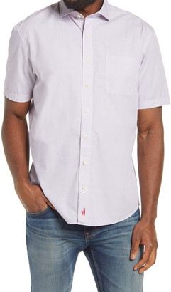johnnie-O Reading Classic Fit Short Sleeve Button-Up Shirt
