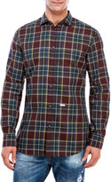 DSQUARED2 Plaid Button Shirt