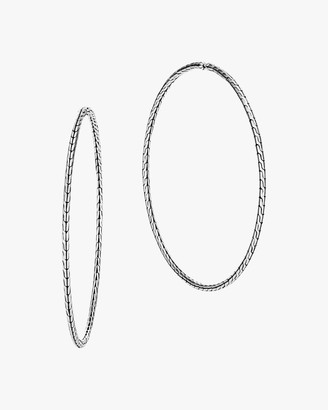 John Hardy Classic Chain Extra-Large Hoop Earrings