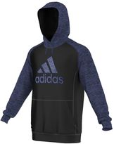 adidas Big & Tall Colorblock Brushed-Back Tricot Hoodie