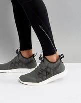 Reebok Running Pump Plus Running Cage Sneakers In Black BS8595