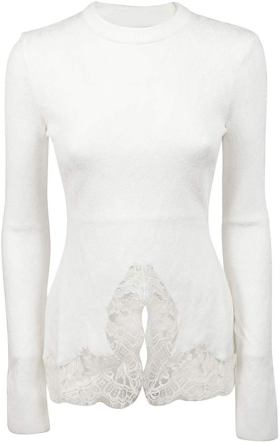 Givenchy Lace Detailing Pullover