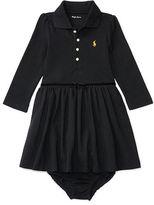 Ralph Lauren Cotton Polo Dress & Bloomer