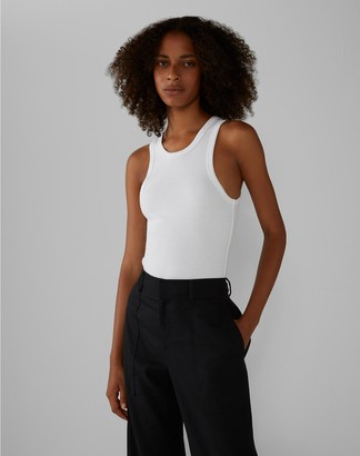 Club Monaco Racerback Ribbed Tank