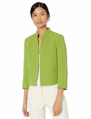 Kasper Women's Stand Collar Stetch Crepe Jacket