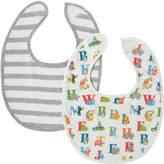 Cath Kidston Animal Alphabet Baby 2 Pack Bib