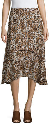SOCIETY AND STITCH Society And Stitch Womens High Low Full Skirt-Juniors