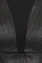 Yoana Baraschi Tux Armor Body Dress in Black
