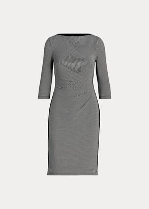 Ralph Lauren Ruched Jersey Dress