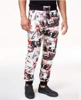 Versace Men's Graphic Print Drawstring Jogger Pants