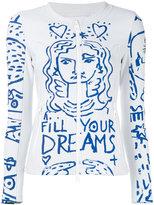 Rossignol printed zip-up jacket - women - Polyester/Cotton/Spandex/Elastane/Polyamide - S