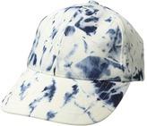 Steve Madden Acid Wash Denim Baseball Cap Caps