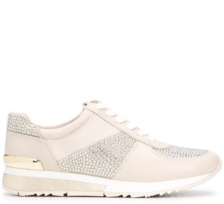 MICHAEL Michael Kors Allie embellished sneakers