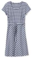 L.L. Bean Nautical Stripe Dress