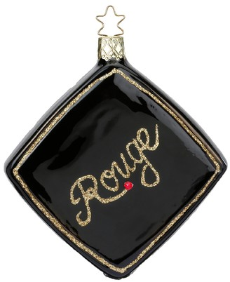 Inges Decor Glamour Rouge Ornament