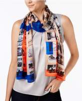 Vince Camuto Paris Photographs Silk Scarf
