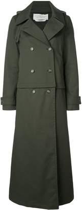 Gabriela Hearst layered wool coat