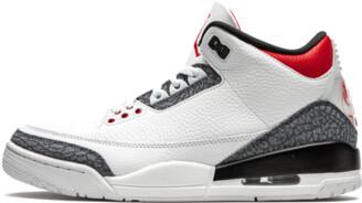 Jordan Air 3 Retro SE-T Denim 'Japan Exclusive - Fire Red' Shoes - 7