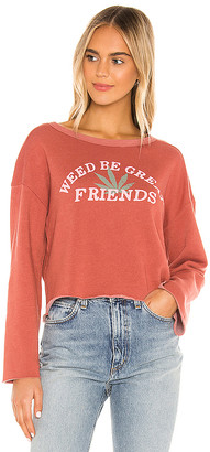 Wildfox Couture Great Friends Flora Sweatshirt