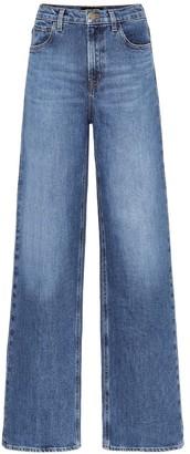 J Brand x Elsa Hosk Monday high-rise jeans