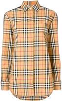 Burberry Heymarket check printed shirt