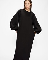 Thumbnail for your product : Ted Baker Sweatshirt Maxi Dress With Statement Sleeves