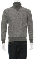 Nanamica Mock Neck Half-Zip Sweater