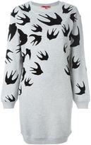 McQ by Alexander McQueen 'Swallow' sweatshirt dress - women - Cotton/Polyester - S