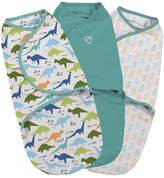 Summer Infant SwaddleMe 3-pk. Small Dino Original Swaddle