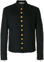 Dolce & Gabbana buttoned military jacket - men - Nylon/Polyester/Spandex/Elastane/Virgin Wool - 50