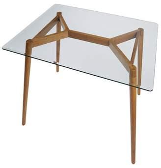 "3.1 Phillip Lim Boler Rectangular Wooden Dining Table Corrigan Studio Table Top Size H x 42"" L x 32"" W"