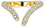 Logan Hollowell - Diamond Tusk Wrap Ring