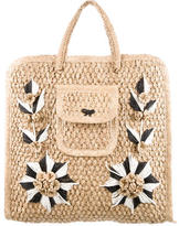 Anya Hindmarch Woven Straw Tote
