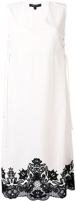 Derek Lam sleeveless lace-up dress